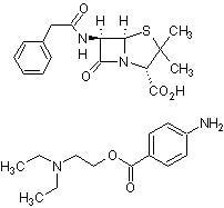 Penicillin G procaine hydrate (CAS 6130-64-9) 98% purity