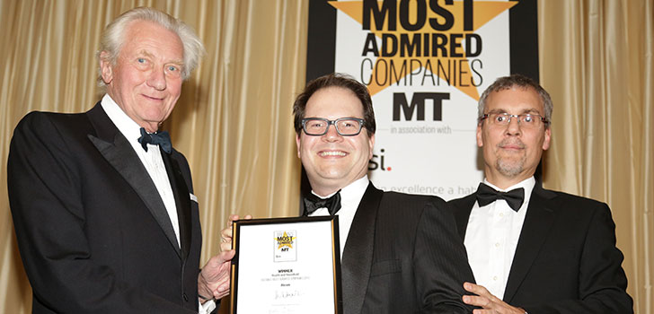 Abcam wins 'Most Admired Company' award