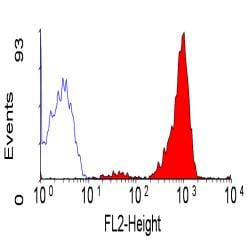 Flow Cytometry / FACS - CD48 antibody [MEM-102] (Phycoerythrin) (ab30478)