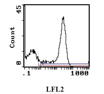 Flow Cytometry - RAT MHC CLASS II RT1D antibody [MRC OX-17] (Phycoerythrin) (ab111825)
