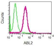 Flow Cytometry - Anti-ABL2 antibody [EPR1222(2)] (ab134134)