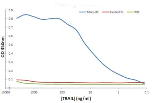 ELISA - DR5 protein (Fc Chimera Active) (ab157268)