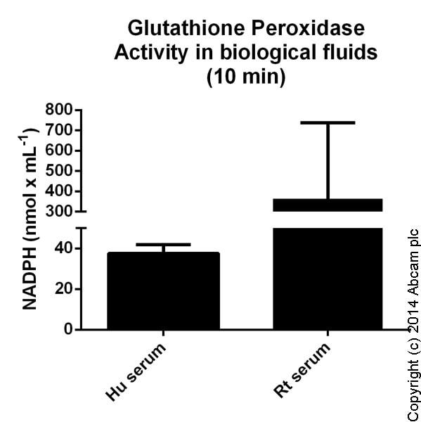 Functional Studies - Glutathione Peroxidase Assay Kit (ab102530)
