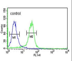 Flow Cytometry - Anti-KDM4B / JMJD2B antibody (ab103129)