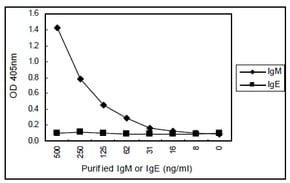 Sandwich ELISA - Anti-IgM antibody [KT38] (HRP) (ab106742)