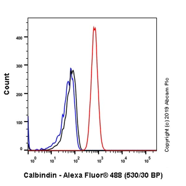 Flow Cytometry - Anti-Calbindin antibody [EP3478] (ab108404)