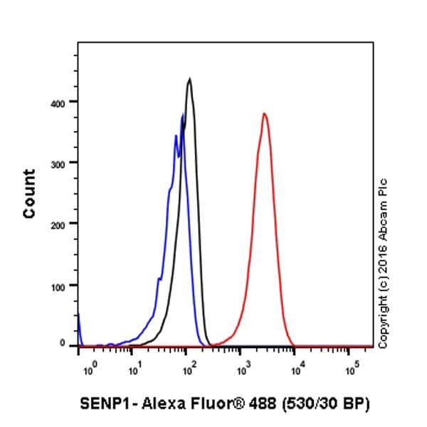 Flow Cytometry - Anti-SENP1 antibody [EPR3844] (ab108981)
