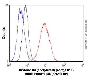 Flow Cytometry - Anti-Histone H4 (acetyl K16) antibody [EPR1004] (ab109463)