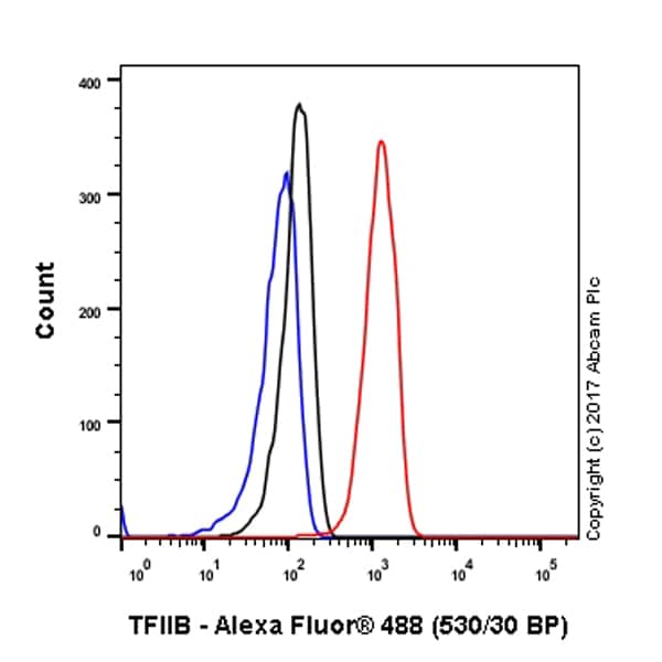 Flow Cytometry (Intracellular) - Anti-TFIIB antibody [EP4588] (ab109518)