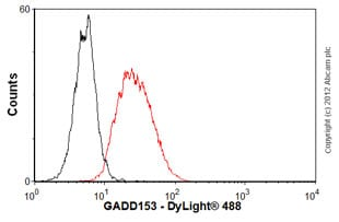 Flow Cytometry - Anti-DDIT3 antibody [9C8] (ab11419)