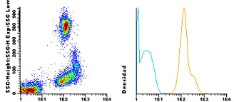 Flow Cytometry - CF405M Anti-CD53 antibody [HI29] (ab115895)