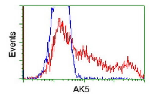 Flow Cytometry - Anti-AK5 antibody [OTI1D6] (ab117927)