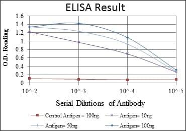 ELISA - Anti-alpha smooth muscle Actin antibody [4A4] (ab119952)
