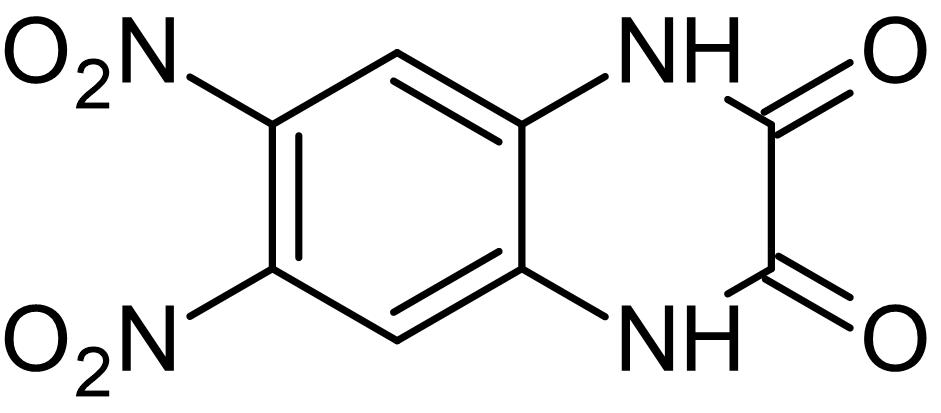 Chemical Structure - DNQX, AMPA / kainate antagonist (ab120018)