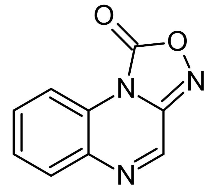 Chemical Structure - ODQ, NO-sensitive guanylyl cyclase inhibitor (ab120022)