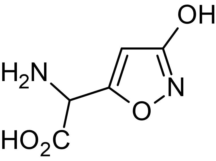 Chemical Structure - Ibotenic acid, excitotoxic agonist (ab120041)