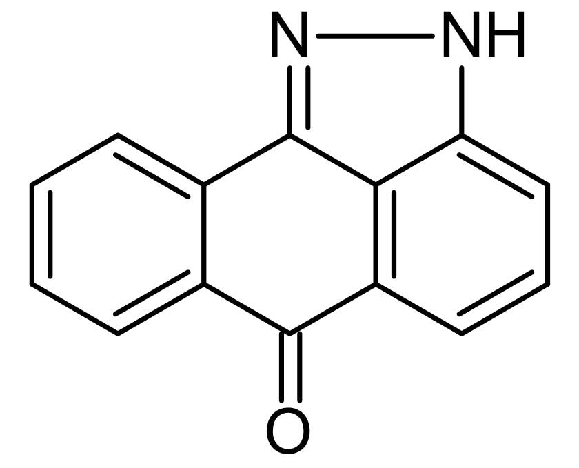 Chemical Structure - SP600125, JNK inhibitor (ab120065)