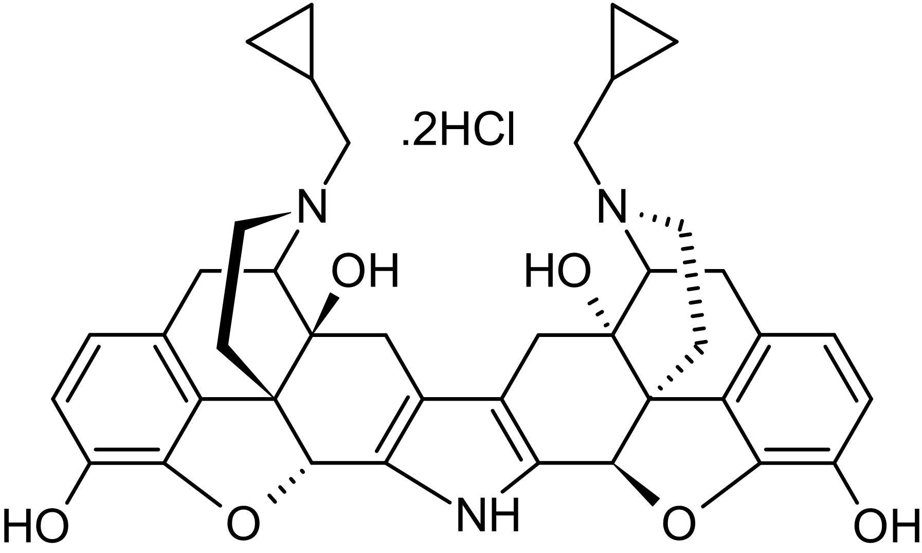 Chemical Structure - nor-Binaltorphimine (nor-BNI), kappa opioid receptor antagonist (ab120078)