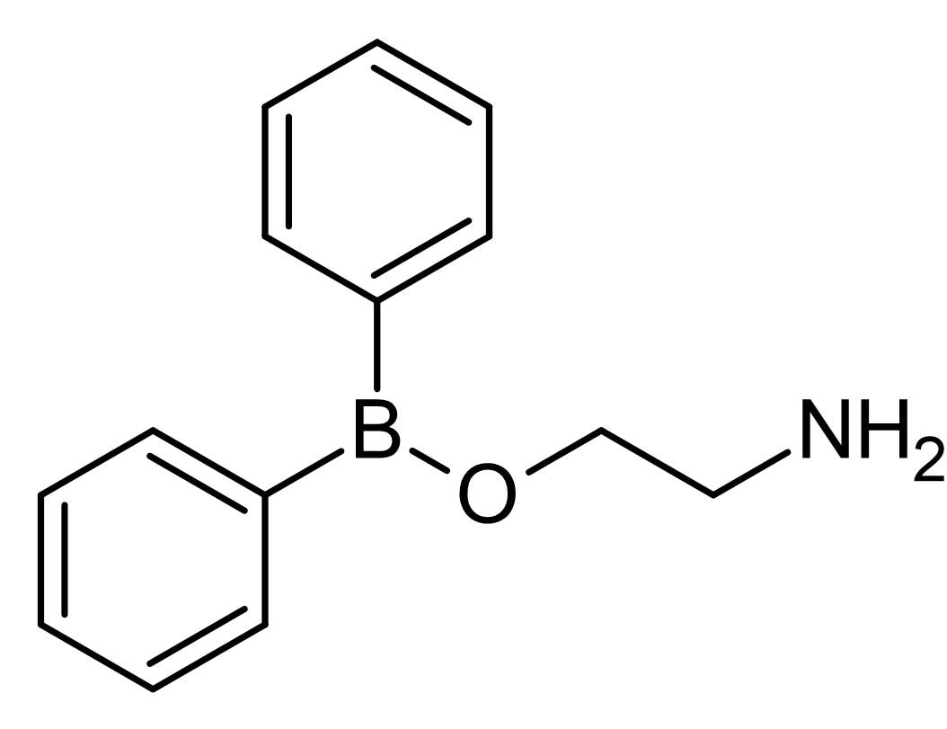 Chemical Structure - 2-APB, Ca<sup>2+</sup> release modulator (ab120124)