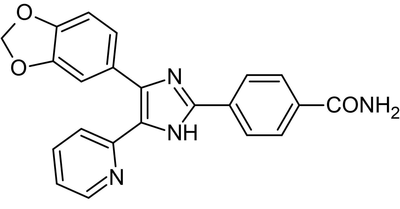 Chemical Structure - SB431542, ALK inhibitor (ab120163)