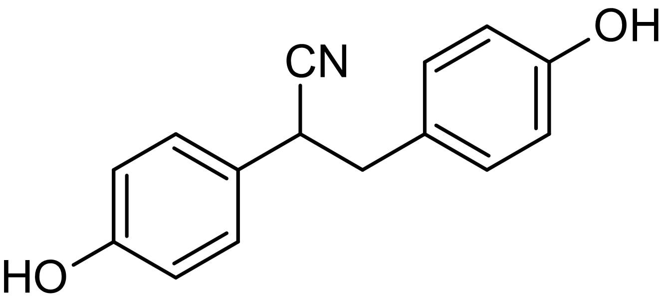 Chemical Structure - DPN, ERbeta agonist (ab120166)