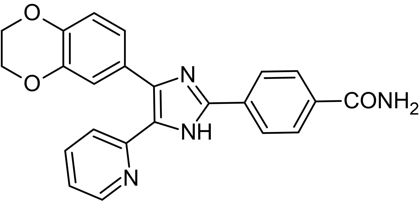 Chemical Structure - D4476, CK1 inhibitor (ab120220)
