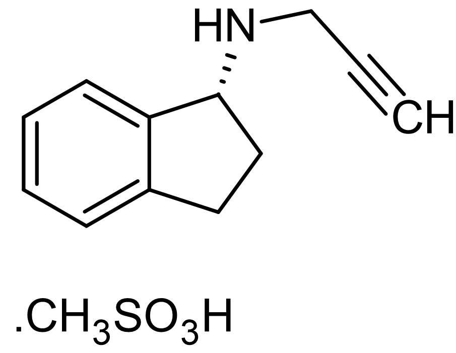Chemical Structure - Rasagiline mesylate, MAO-B inhibitor (ab120236)