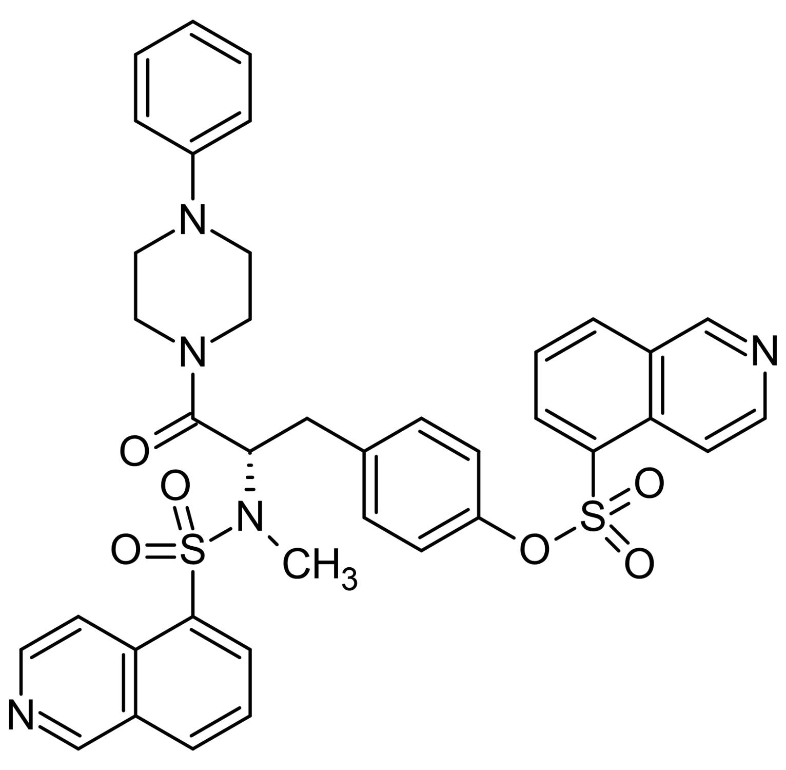 Chemical Structure - KN-62, CaM kinase II inhibitor. P2X<sub>7</sub> antagonist. (ab120421)