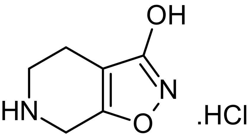 Chemical Structure - Gaboxadol hydrochloride (THIP hydrochloride), GABA<sub>A</sub> receptor agonist and GABA<sub>C</sub> receptor antagonist (ab120426)