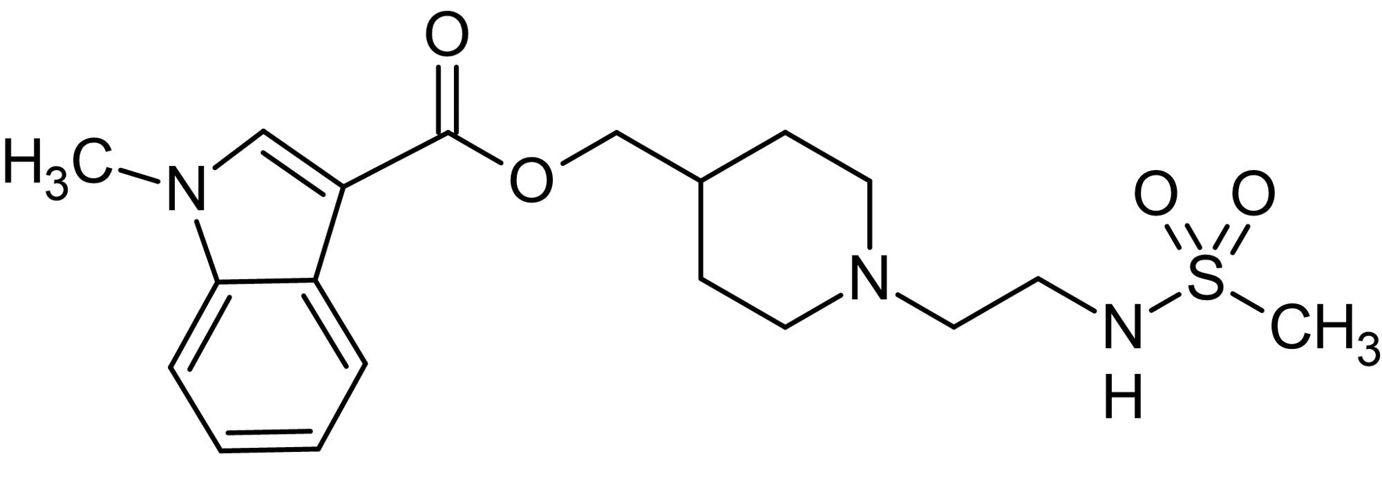 Chemical Structure - GR113808, selective 5-HT<sub>4</sub> antagonist (ab120544)