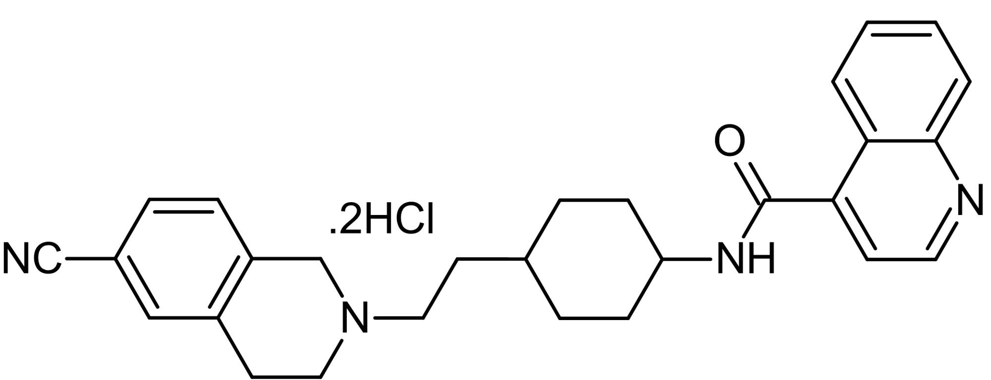 Chemical Structure - SB-277011-A dihydrochloride, D<sub>3</sub> antagonist (ab120567)