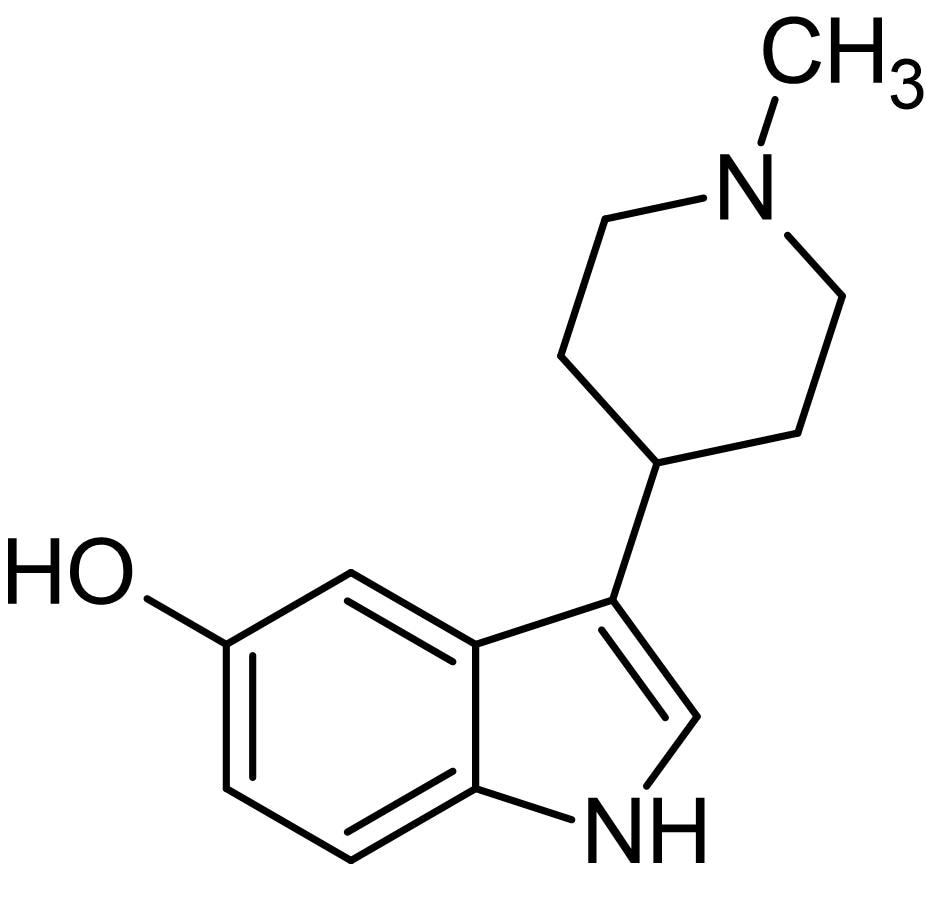 Chemical Structure - BRL 54443, agonist at 5-HT<sub>1E</sub> and 5-HT<sub>1F</sub> receptors (ab120627)