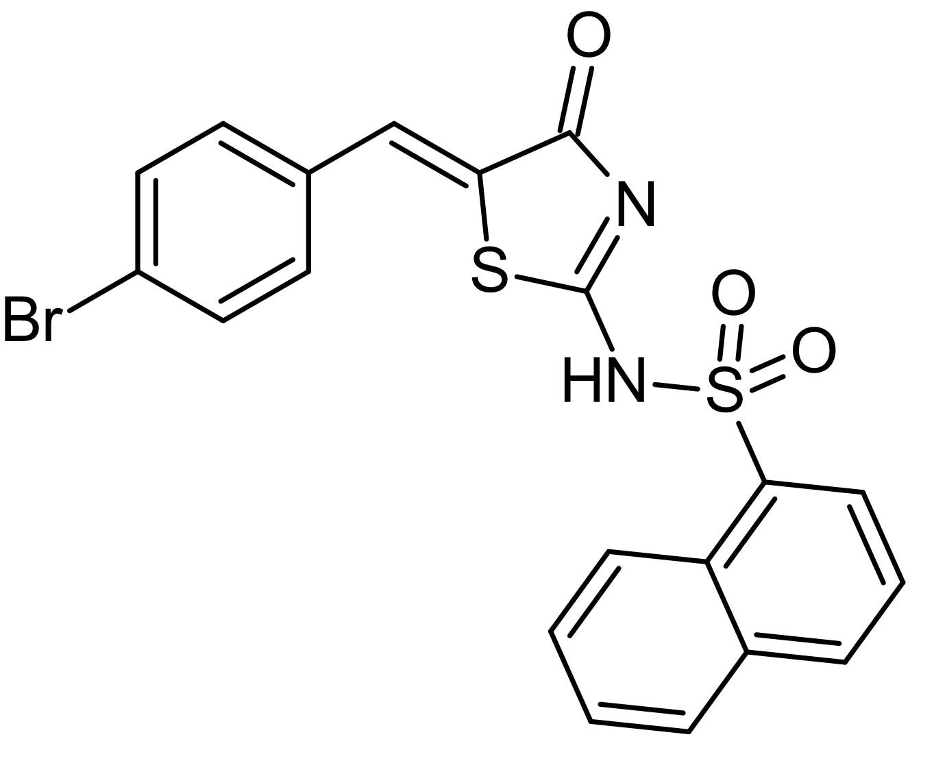 Chemical Structure - Pitstop<sup>&reg;</sup> 2, Novel cell-permeable clathrin inhibitor (ab120687)