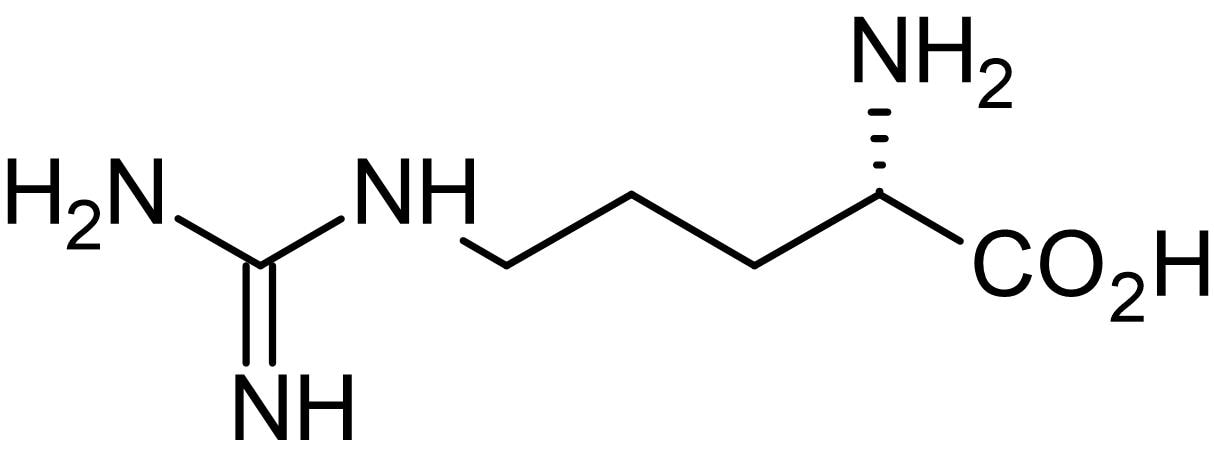 Chemical Structure - L-Arginine, substrate for nitric oxide synthase (ab120750)