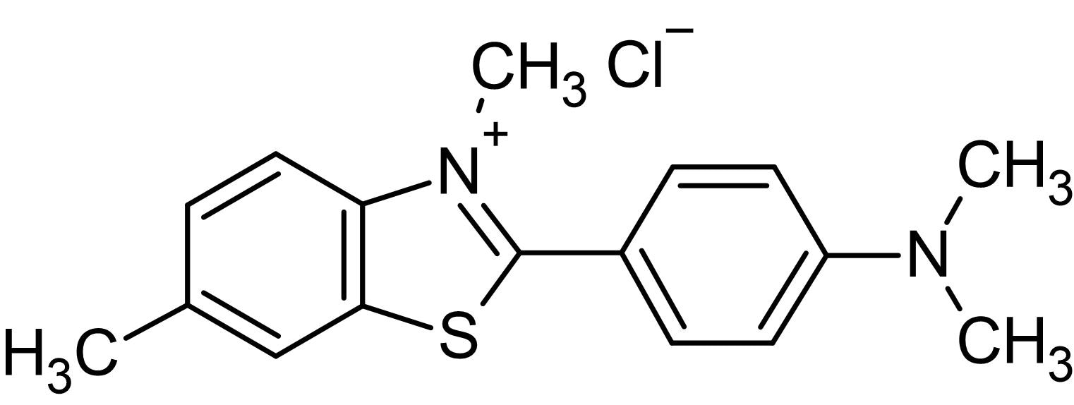 Chemical Structure - Thioflavin T, Fluorescent cell-permeable amyloid binding benzothiazole salt (ab120751)