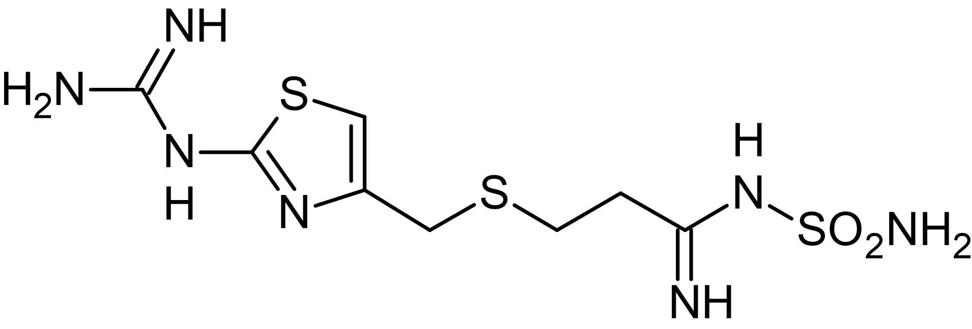 Chemical Structure - Famotidine, H<sub>2</sub> antagonist (ab120760)