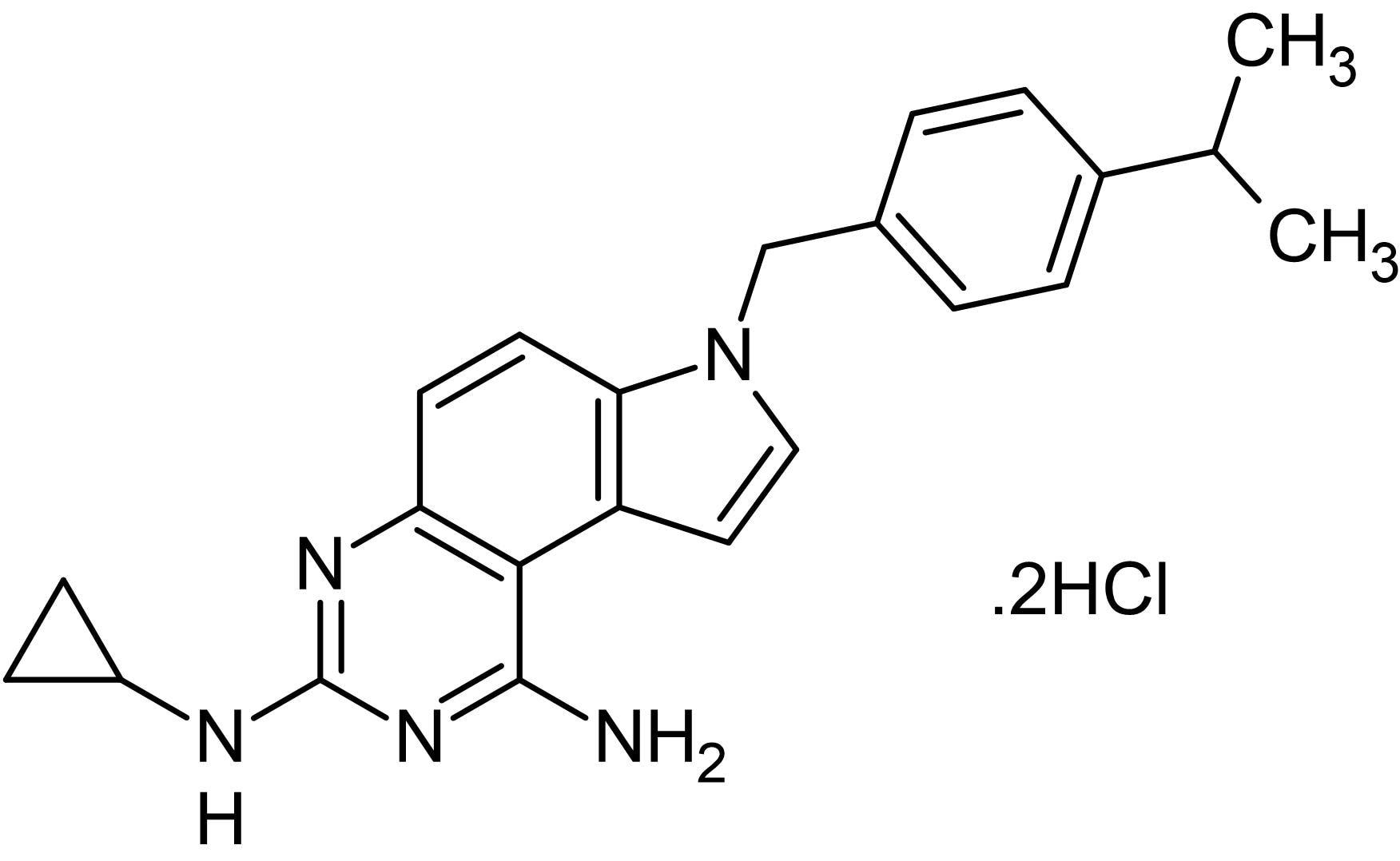 Chemical Structure - SCH79797 dihydrochloride, PAR<sub>1</sub> antagonist (ab120858)