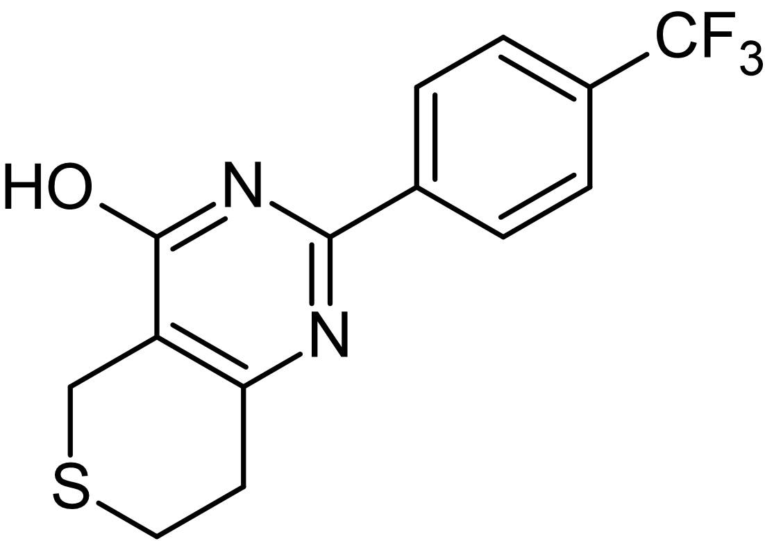 Chemical Structure - XAV939, Tankyrase inhibitor (ab120897)