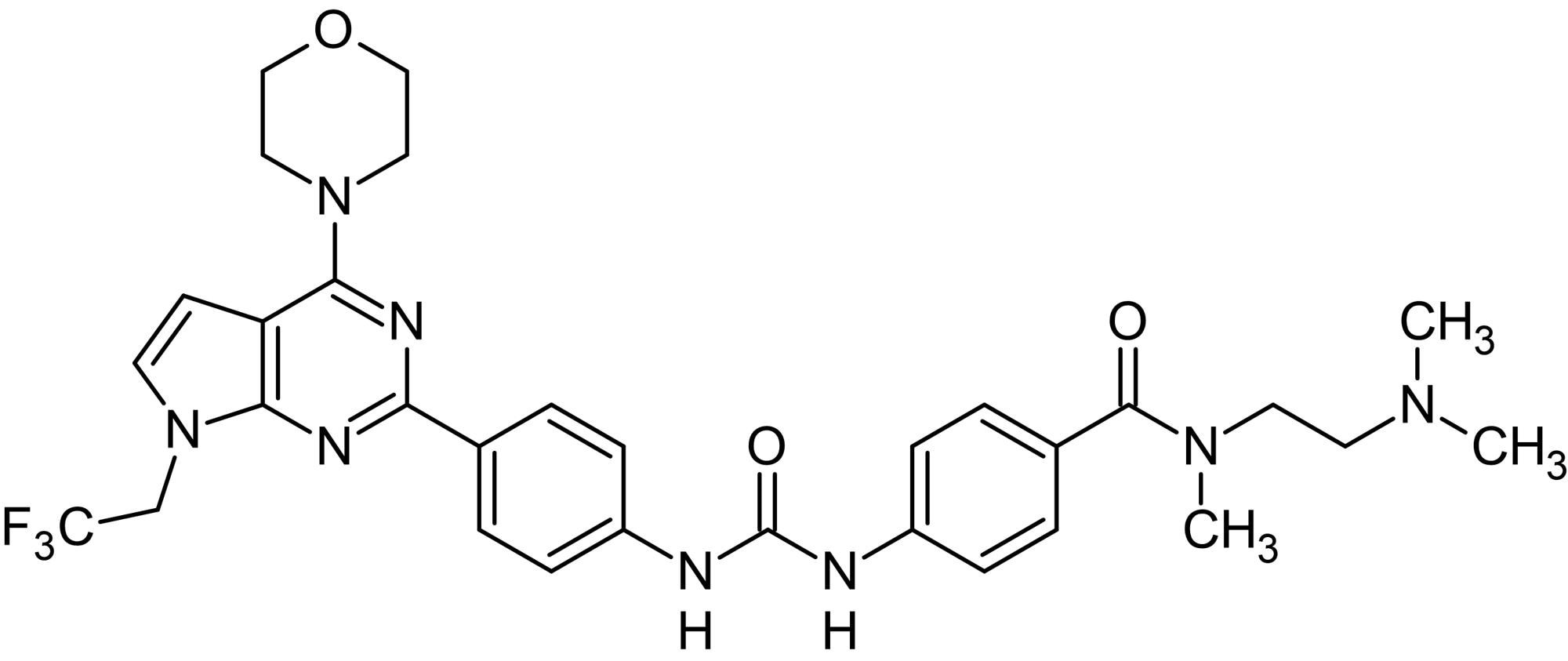 Chemical Structure - CAY10626, PI3Kalpha/mTOR inhibitor (ab120903)