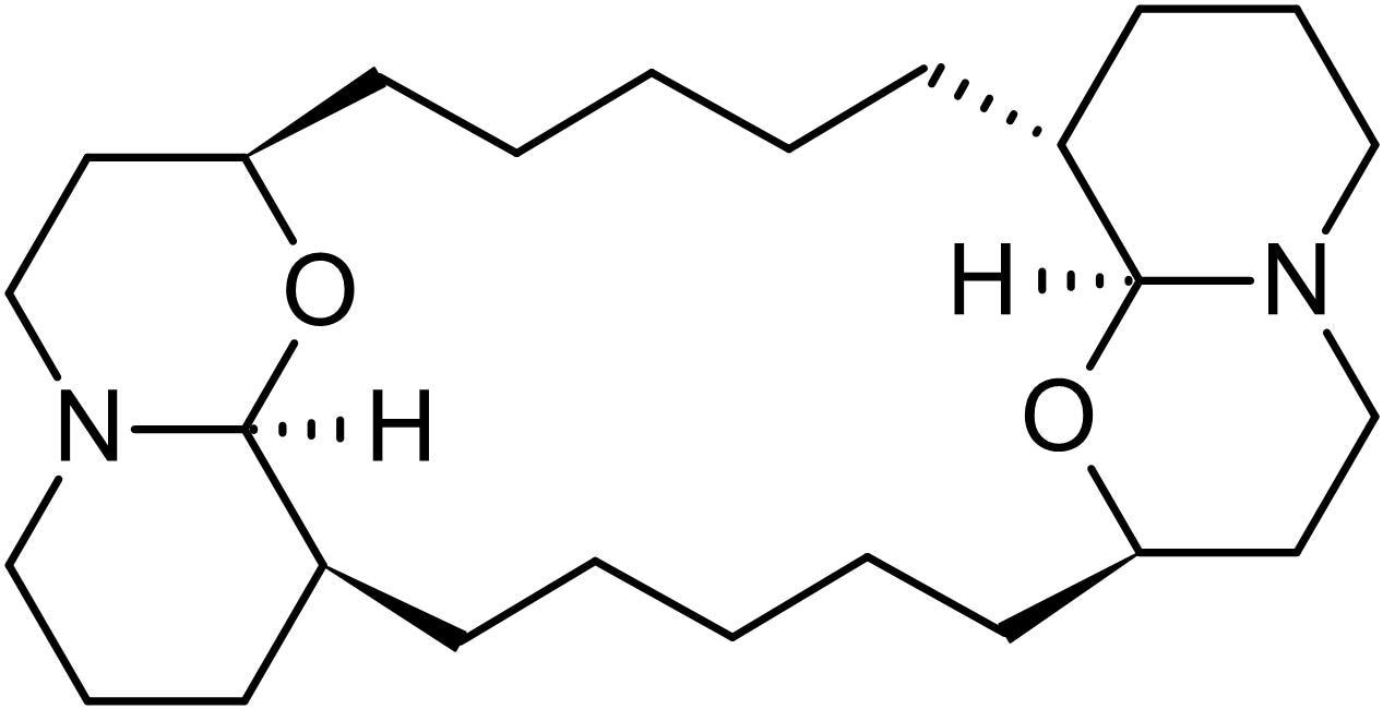 Chemical Structure - Xestospongin C, IP<sub>3</sub> receptor antagonist (ab120914)
