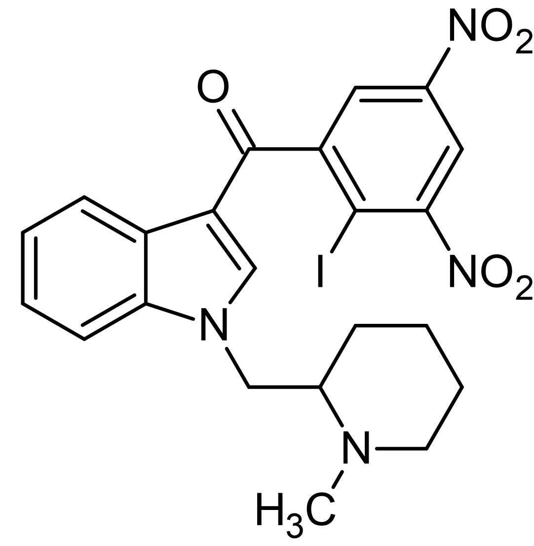 Chemical Structure - AM1241, CB<sub>2</sub> agonist (ab120934)