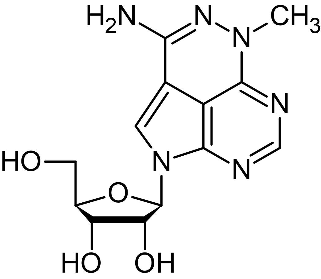 Chemical Structure - Triciribine, inhibitor of Akt activation (ab120936)