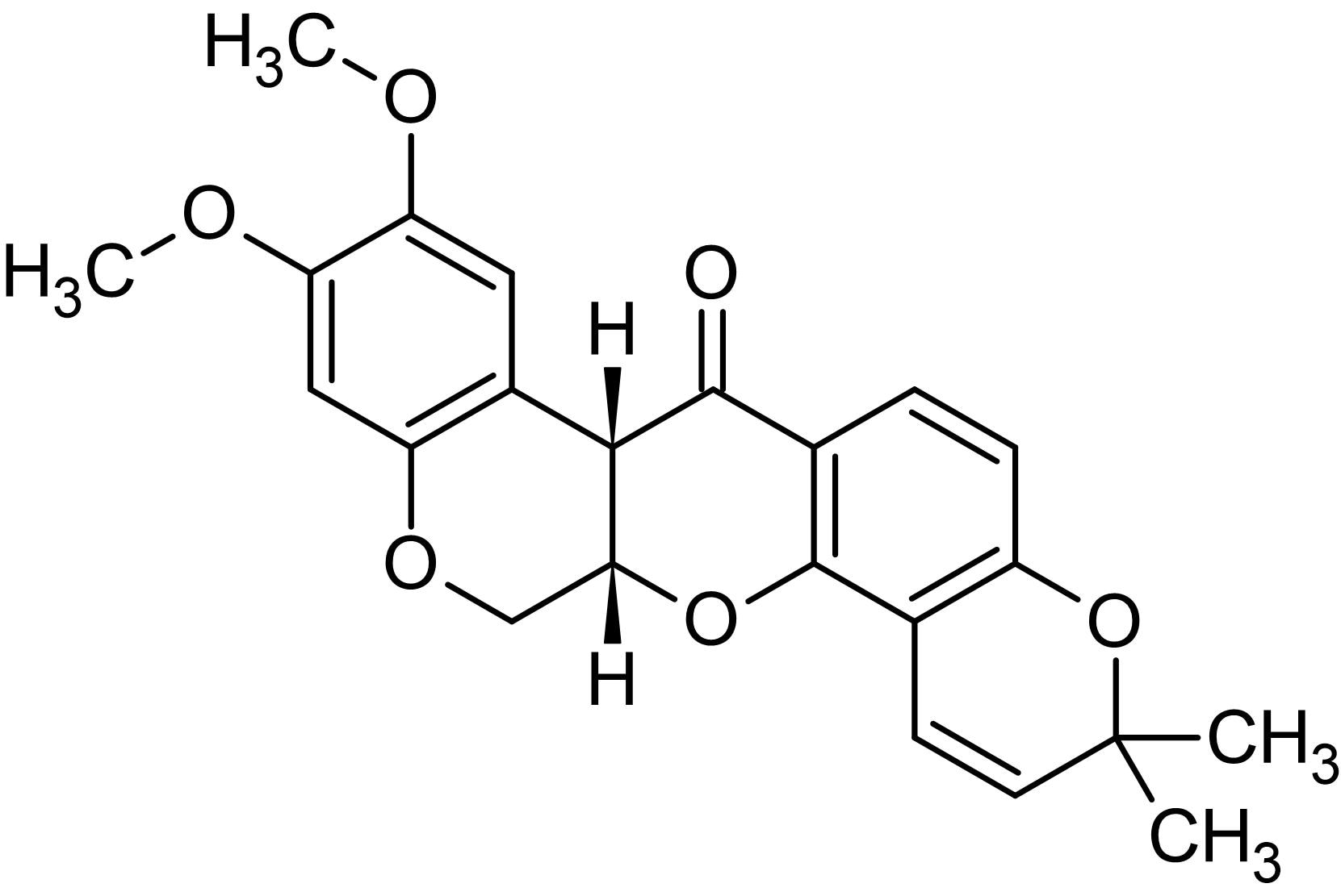 Chemical Structure - (-)-Deguelin, Akt inhibitor (ab120941)