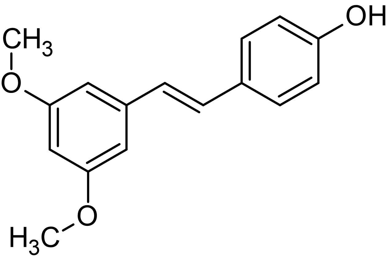 Chemical Structure - Pterostilbene, Antioxidant and antiapoptotic agent (ab120961)