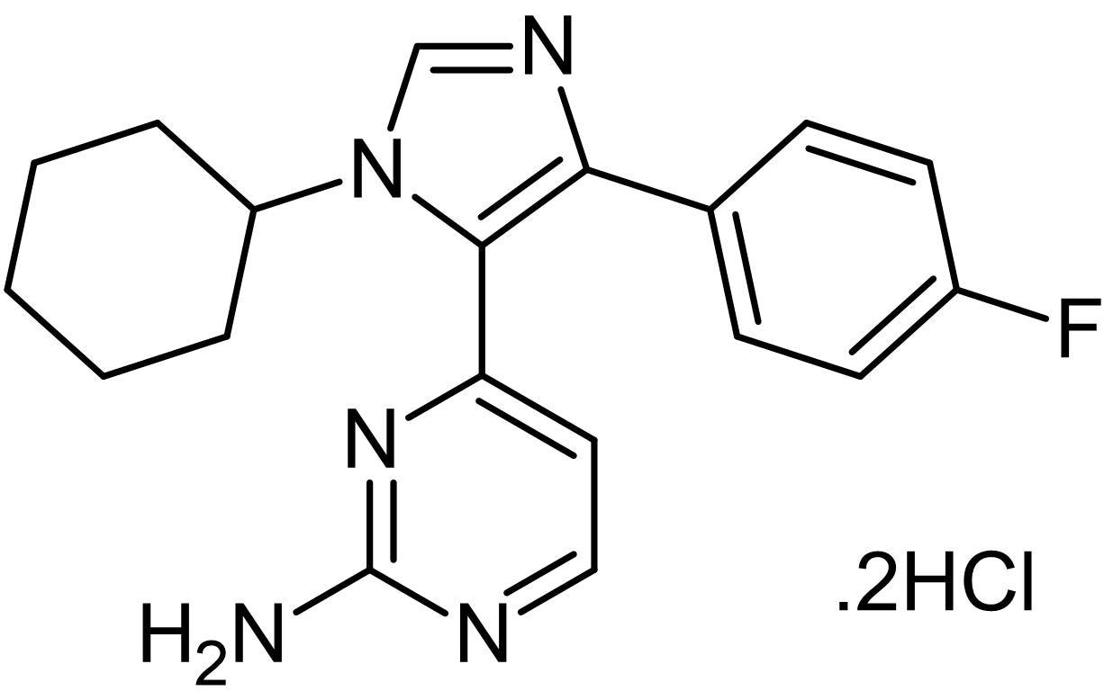 Chemical Structure - PF 670462, casein kinase 1epsilon (CK1epsilon) and CK1delta inhibitor (ab120985)