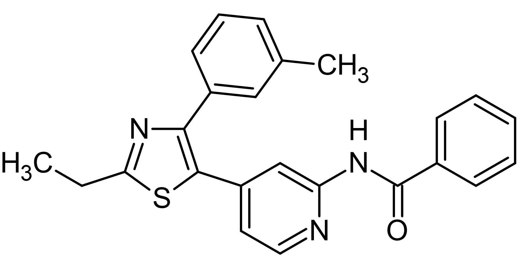 Chemical Structure - TAK 715, p38 MAPK inhibitor (ab120989)