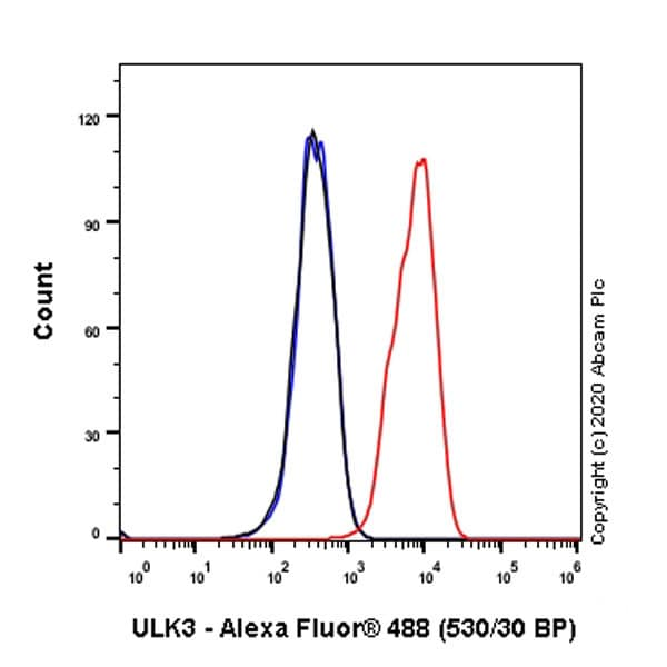 Flow Cytometry - Anti-ULK3 antibody [EPR4888] (ab124947)