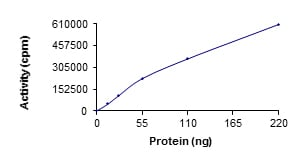 Functional Studies - Recombinant human ULK2 protein (ab125622)