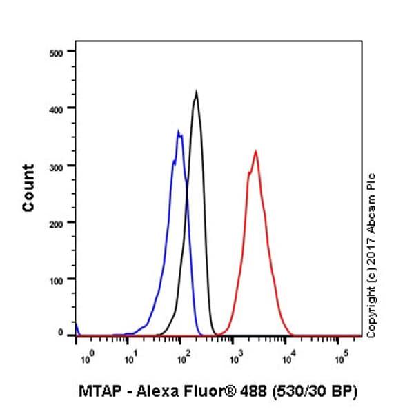 Flow Cytometry - Anti-MTAP antibody [EPR6893] (ab126770)