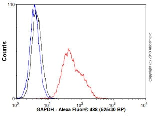 Flow Cytometry - Anti-GAPDH antibody [EPR6256] - Loading Control (ab128915)